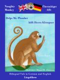 Cover Naughty Monkey English - German