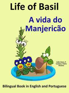 Free Bilingual Book English Portugese - Life of Basil