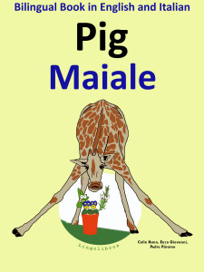 bilingual ebook english italian pig
